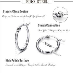 12mm stainless steel hoops new in packaging